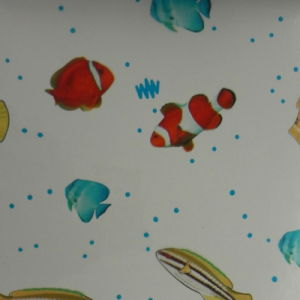 PVC Printed Film for Shower Curtains (HL08-03) pictures & photos