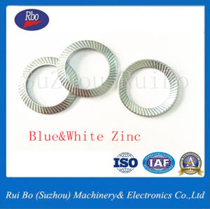 Blue&White Zinc DIN9250 Safety Lock Washer/Ribbed Washer pictures & photos