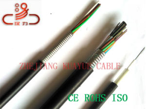 Central Loose Tube GYTA53 Fiber Optic Cable/Computer Cable/Data Cable/Communication Cable/Audio Cable/Connector Cable pictures & photos