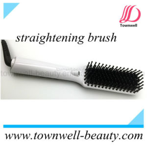 Hot Brush Wholesale Hair Straightening Comb with Auto Lock Function Key pictures & photos