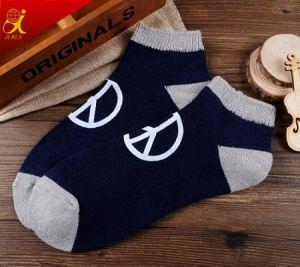 China Men Custom Grip Socks Fashion Pattern Funny Socks pictures & photos