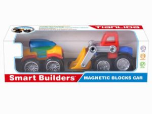 The Popular Magnet Block Car for Kids pictures & photos