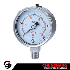 4 Inches Stainless Steel Pressure Gauge pictures & photos