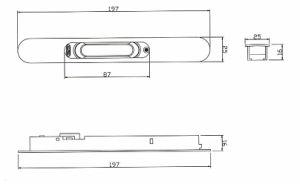Aluminium Alloy Sliding Window and Door Lock (CH-G20) pictures & photos
