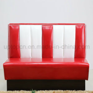 1950s American Style Restaurant Booth PU Leather Sofa (SP-KS269) pictures & photos
