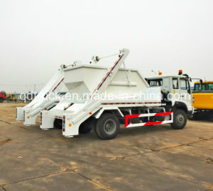 FAW Skip Loading Garbage Truck, Skip loader truck pictures & photos