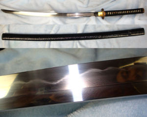 Handmade Kairyu Katana/Japanese Samurai Sword for Real Use