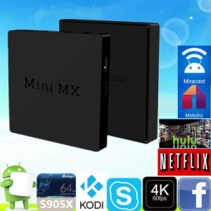 2016 Android 6.0 Minimx S905X 2g 16g Cheapest TV Box pictures & photos