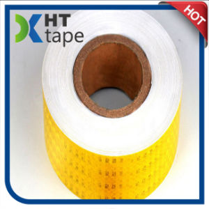 PVC / Pet Truck Vehicle Safety Honeycomb Reflective Tape pictures & photos