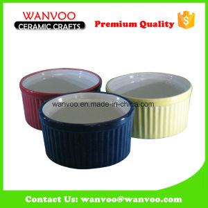 Wholesale Cheap Straight Round Ceramic Cake Mold Cake Pan pictures & photos