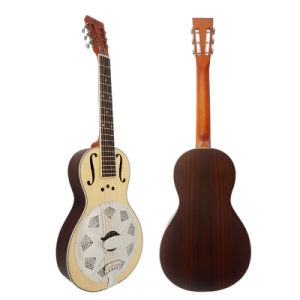 BV/SGS Certificate Cheap Wholesale Wooden Body Parlor Resonator Guitar pictures & photos