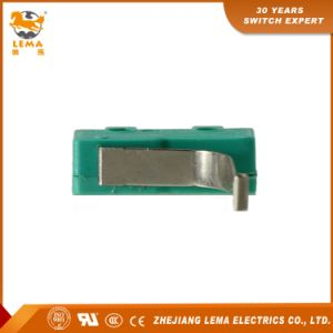 Lema 5A Green Straight PCB Quick Connect Terminal Kw12-91s Micro Switch pictures & photos