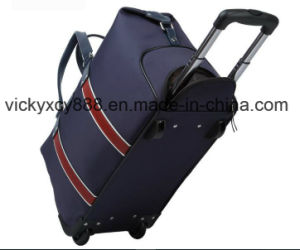 Oxford Trolley Wheeled Luggage Business Travel Travelling Duffel Bag (CY9916) pictures & photos
