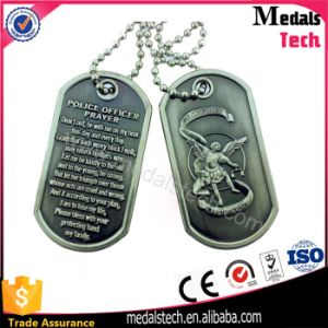 Wholesale Bulk Antique Silver Angle Cheap Personalized Dog Tag pictures & photos