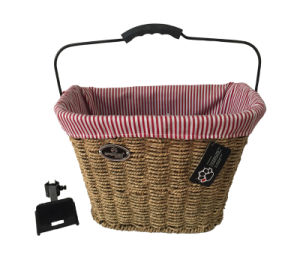 2015 Hot - Sale Willow Bicycle Basket for Bike (HBG-150) pictures & photos