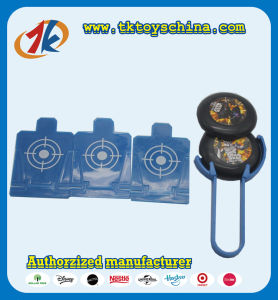 Customized Mini Flying Disc Launcher Toys pictures & photos