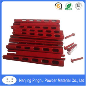 Red Powdercoating for Spare Parts Coating pictures & photos