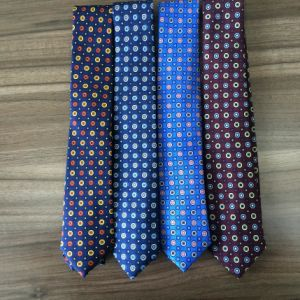 Fashion Flower Design Silk Printed Neckties pictures & photos