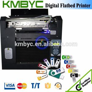 White Ink UV LED Flatbed Printing Machine A3 pictures & photos