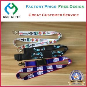 2017 New Quality USA Customized Logo Promotion Neck Strap Lanyard pictures & photos