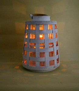 White Woven Natural Contracted Wind Archaize Environmental Kerosene Lamps pictures & photos