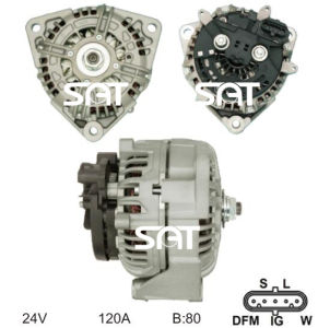 Bosch Alternator 0124655003 Ca1693IR 23535 pictures & photos
