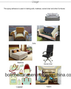 China Supplier Spray Adhesive for Sofa and Furniture Binder pictures & photos