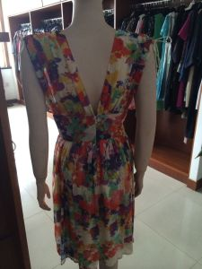 Women′s Floral Dress, Belt, Fashion Clothing pictures & photos