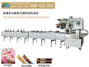 Automatic Feeding Pillow Packing Machine for Chocolate pictures & photos