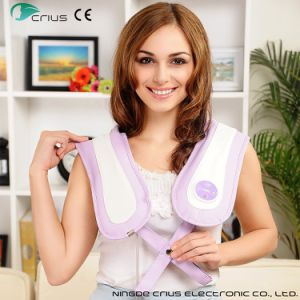 Kneading Acupressure Thermal Neck and Shoulder Massager pictures & photos