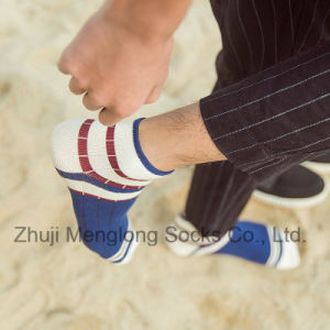 Fashion Striped Men Cotton Socks Casual Sport Cotton Socks