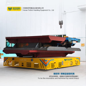 Trackless Die Carrier Trolley with Lifting Platform pictures & photos
