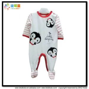 2017 Latest Design Baby Garment Round Neck Toddler Rompers pictures & photos