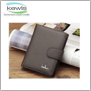 Long Style Men Genuine Leather Wallet for Gift pictures & photos