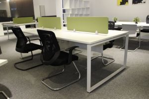 Office Furniture 4 Person Workstation with Electric Power Outlet pictures & photos