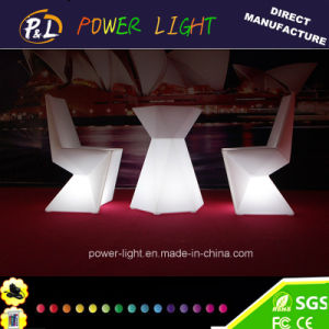 2016 New Design Diamond Furniture with LED Bar Furniture Lighted LED Bar Table Stool pictures & photos