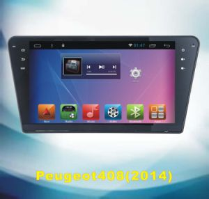 Android System GPS Tracker for Peugeot 408 with Car DVD Player pictures & photos