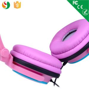 Colorful Stereo Wired Fashion Light Headset Headphone pictures & photos
