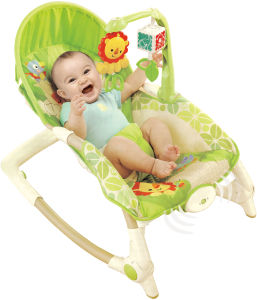 Adjustable Cradle & Soothe Soft Baby Bouncer/ Rocker with Music and Vibration Certification Baby Trace Brand 63525 pictures & photos