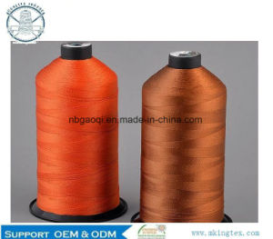 100% H. T Polyester Filament Sewing Thread pictures & photos