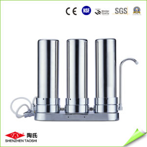 3 Stsge Stainless Steel Table Water Purifier pictures & photos