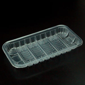 Food Packaging Tray OPS Packing Tray to Protect and Transport Fresh Food in Supermarket pictures & photos