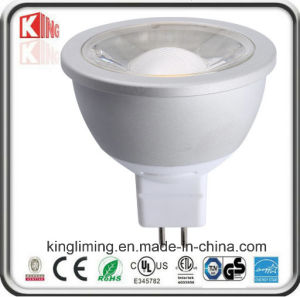 Dimmable GU10 LED Bulb 3000k 6000k COB AC120V