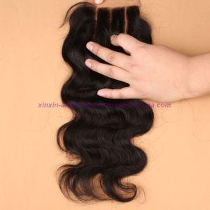 8A Grade Virgin Unprocessed Hair Indian Body Wave Bundles with Lace Closure Human Virgin Hair