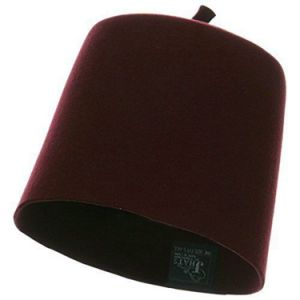 Wine Red Wool Fez Hat pictures & photos