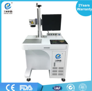 20W Fiber Laser Marking Machine Price for Metal / Glass / Plastic / iPhone 6 Case pictures & photos