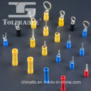 Fork Type Insulated Solderless PVC Copper Spade Crimp Terminal (SV) pictures & photos