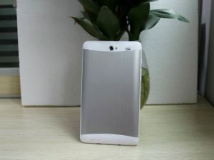 Tablet PC 7 Inch Dual Core 3G WCDMA Front 0.3MP Rear 2.0MP 1024*600 IPS Bluetooth Android Tablet pictures & photos