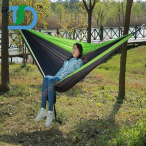 New Camping Outdoor Beach Hangout Parachute Nylon Hammock pictures & photos