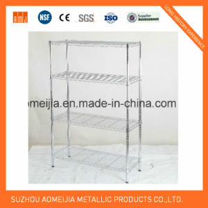 4 Tier Wire Shelving with NSF Approval pictures & photos